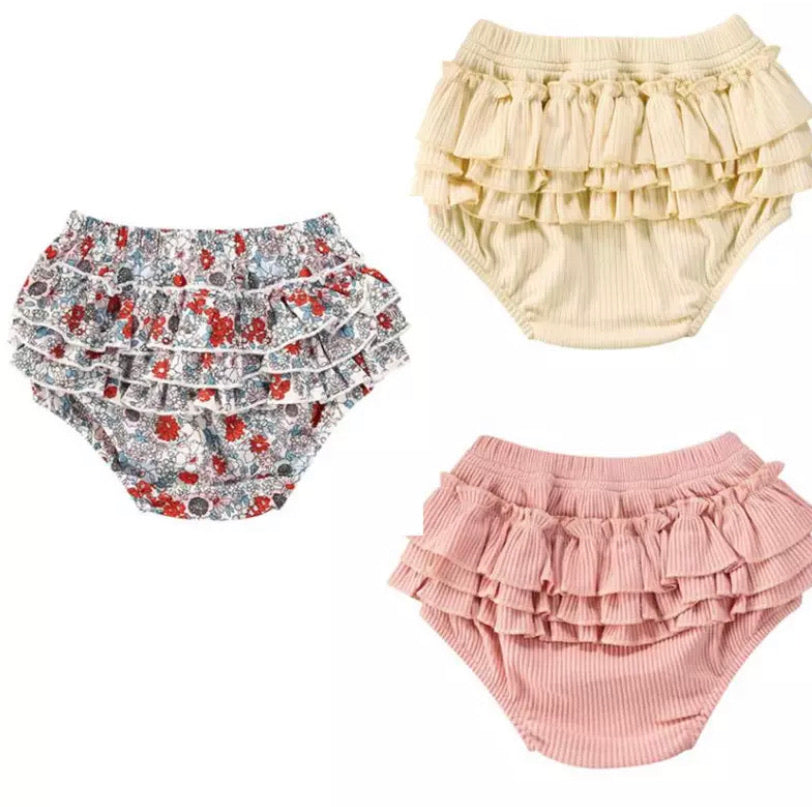 Ruffle Bum Nappy Cover - 3 Styles