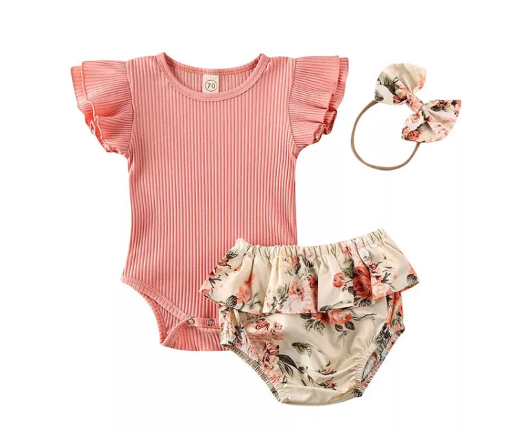 Adele Bodysuit & Bloomer Set