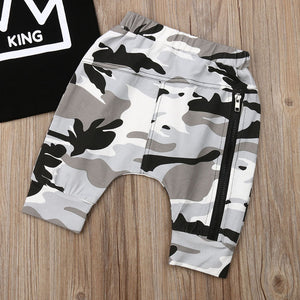 Lil King Camo Set - 2 Colours