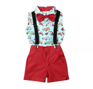 Cars Suspender Set