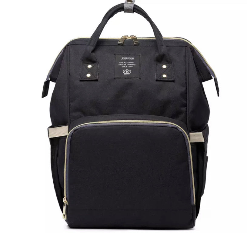 Nappy Bag- Black