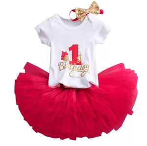 1st Birthday Tulle Skirt Set