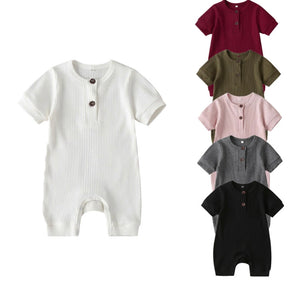Ribbed Onesie - 6 Colours