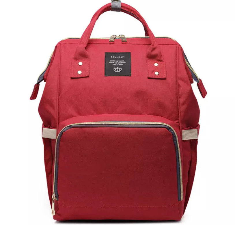 Nappy Bag Red