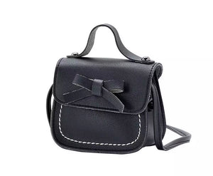 Bowknot Handbag - Black