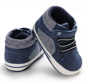 Velcro High Top Prewalkers - 4 Colours