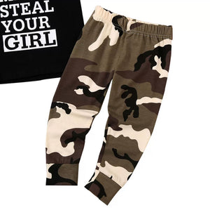 Mr Steal Your Girl Camo Singlet Set - 2 Colours