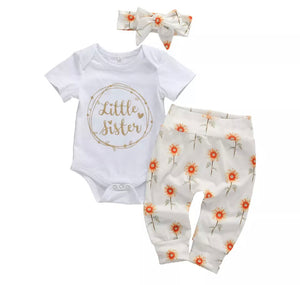Little Sister Sunflower Set