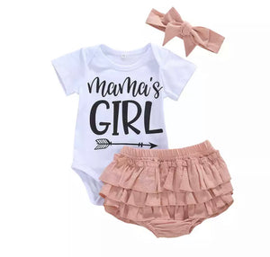 Mama's Girl Bloomer Set
