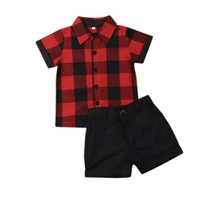 Plaid Set