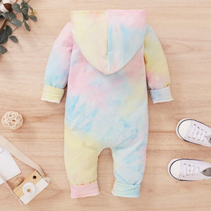 Tie Dye Hooded Onesie - 3 Colours
