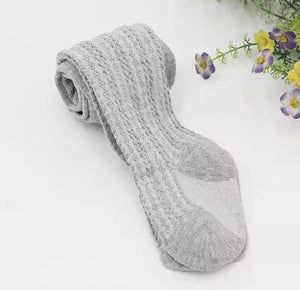 Cable Knit Stockings