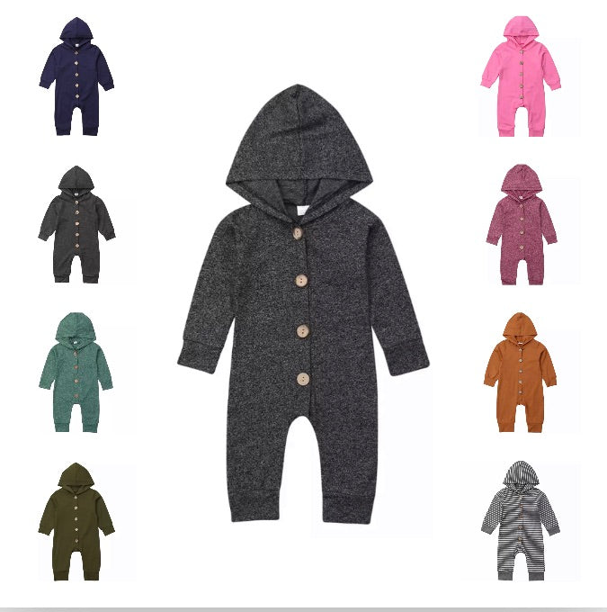 Hooded Basics Onesie