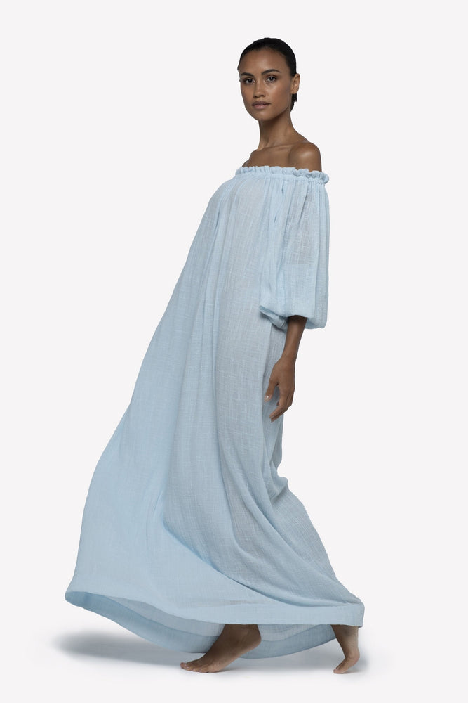 PEGASI OFF THE SHOULDER GOWN
