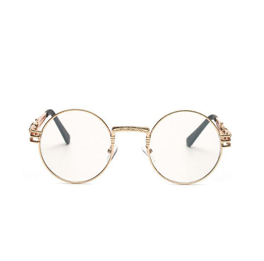 4bfde3834a6 Classy Gold Streetwear Glasses