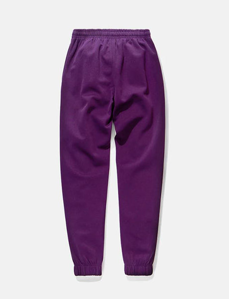 Reflective Purple Stripe Sweatpants