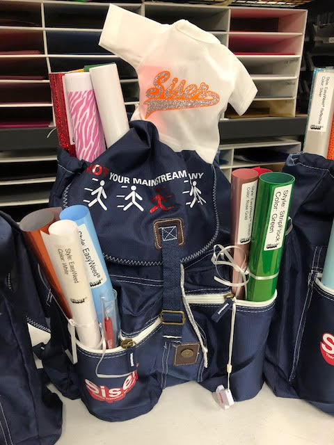 BackPack full of Siser Goodies GIVEAWAY