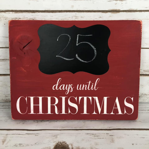 SVG Instant Download Days Until Christmas Countdown