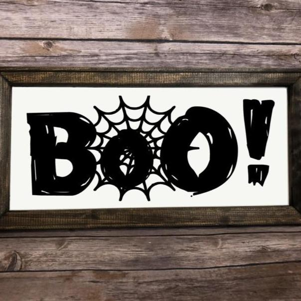SVG Instant Download BOO