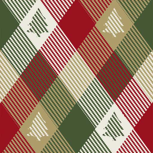 Siser EasyPatterns Christmas Plaid 12x12