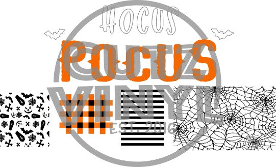 HOCUS POCUS SIGN/PATTERNS SVG Instant Download