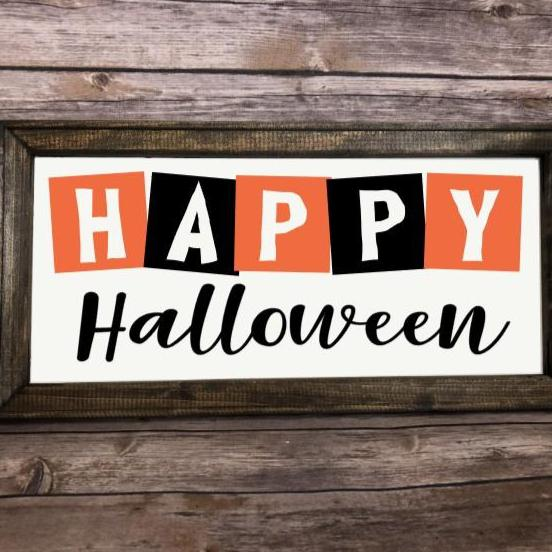 HAPPY HALLOWEEN SVG Instant Download