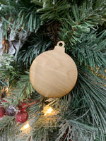 Wood Ornament Blanks - 12 Pack