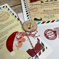 Customized Santa Letter Set