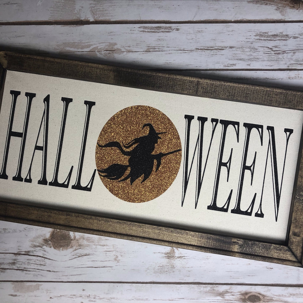 HALLOWEEN WITCH SIGN SVG Instant Download