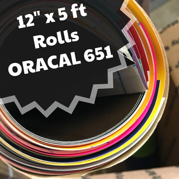651 ORACAL - 5 FOOT ROLL