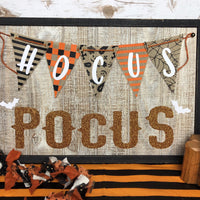 SVG Instant Download HOCUS POCUS SIGN/PATTERNS
