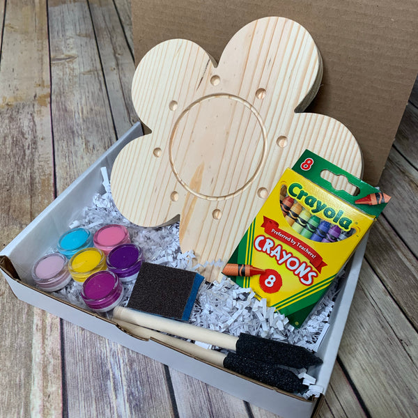 DIY Flower Crayon Holder kit 3-5 days processing