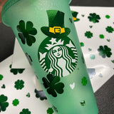 Starbucks Shamrock Cold Cup Wrap 24oz