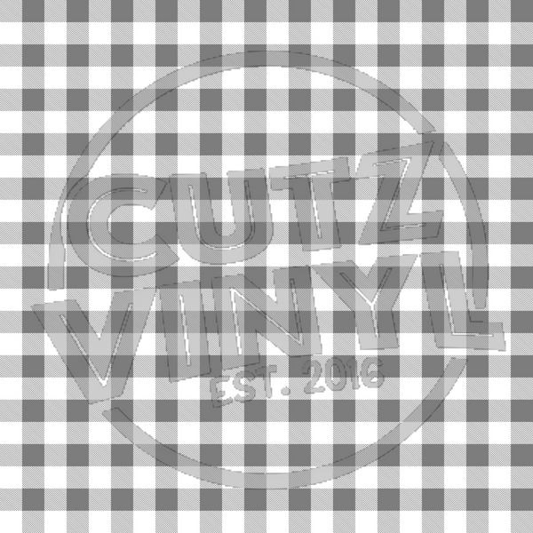 Buffalo Plaid - Small Grey
