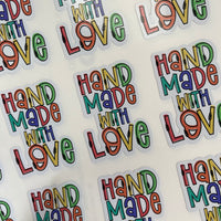 Handmade with love Rainbow