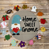 Interchangeable Gnome Sign Complete Kit
