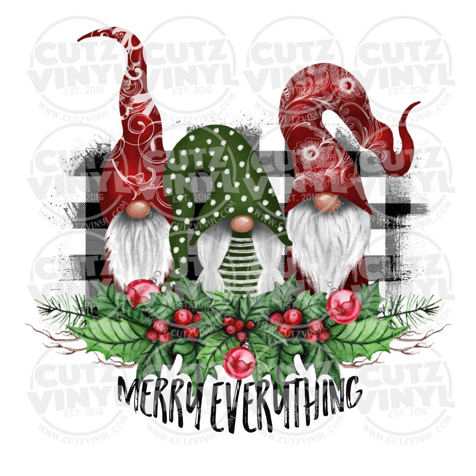 Sublimation Transfer Only - Merry Everything