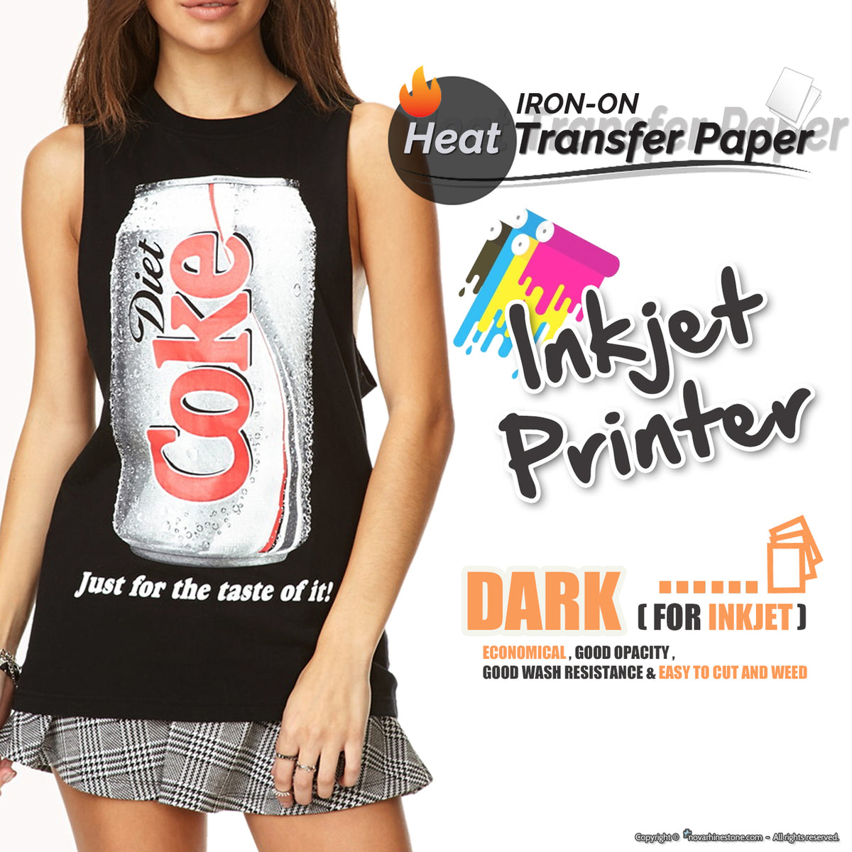 Witty image for inkjet printable htv