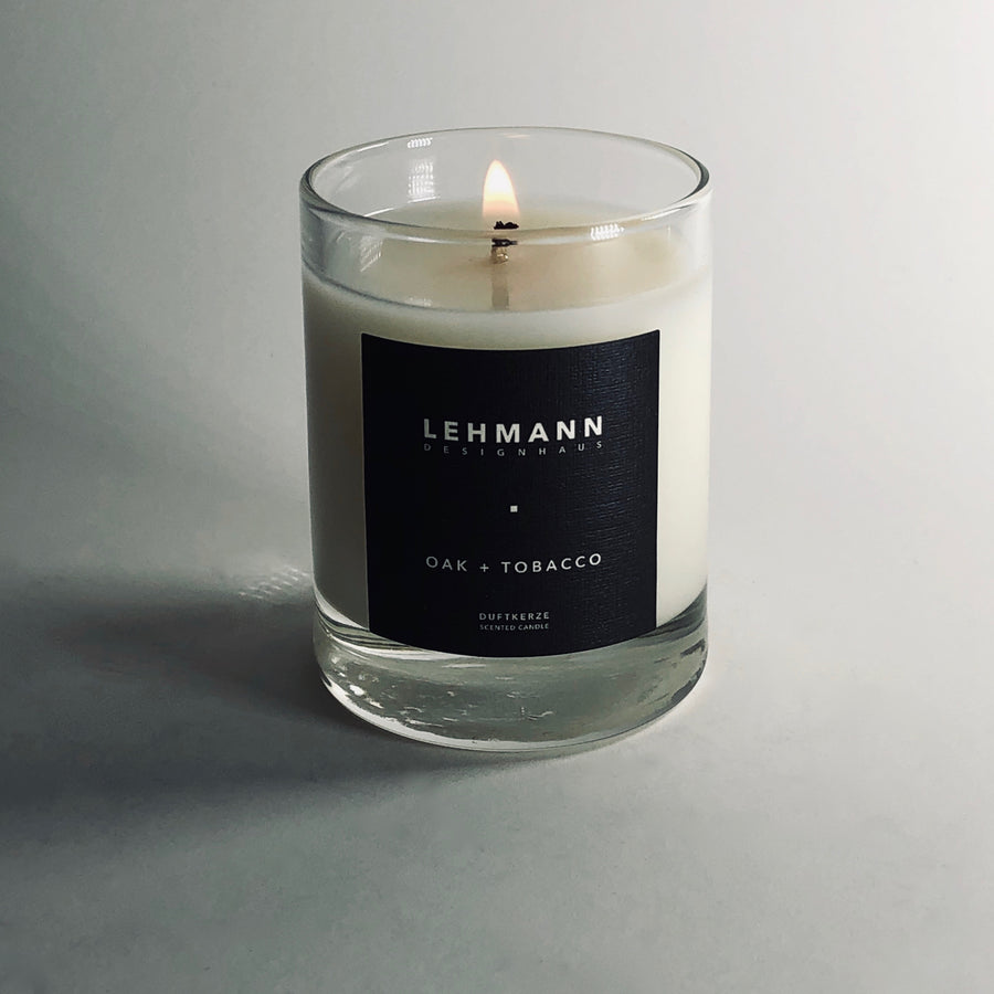 OAK + TOBACCO VOTIVE