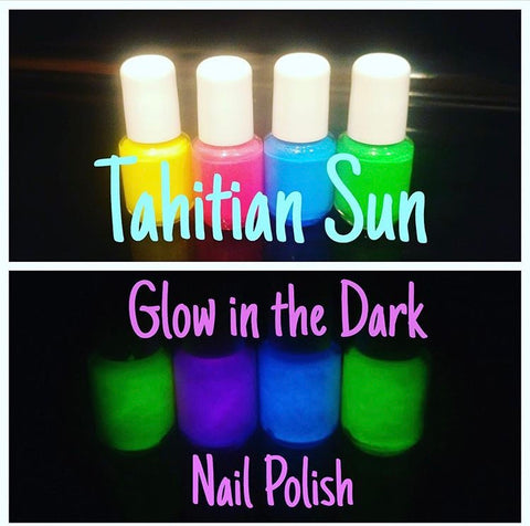 Glow in the Dark Min Polishes
