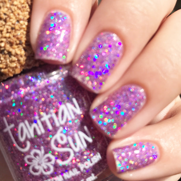 Caribbean Splash - Glitter Polish