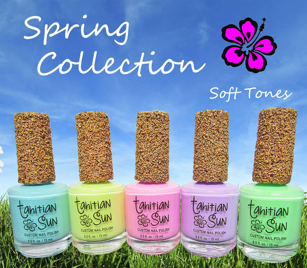 Soft Tone Spring Nail Polish Collection - Gloss