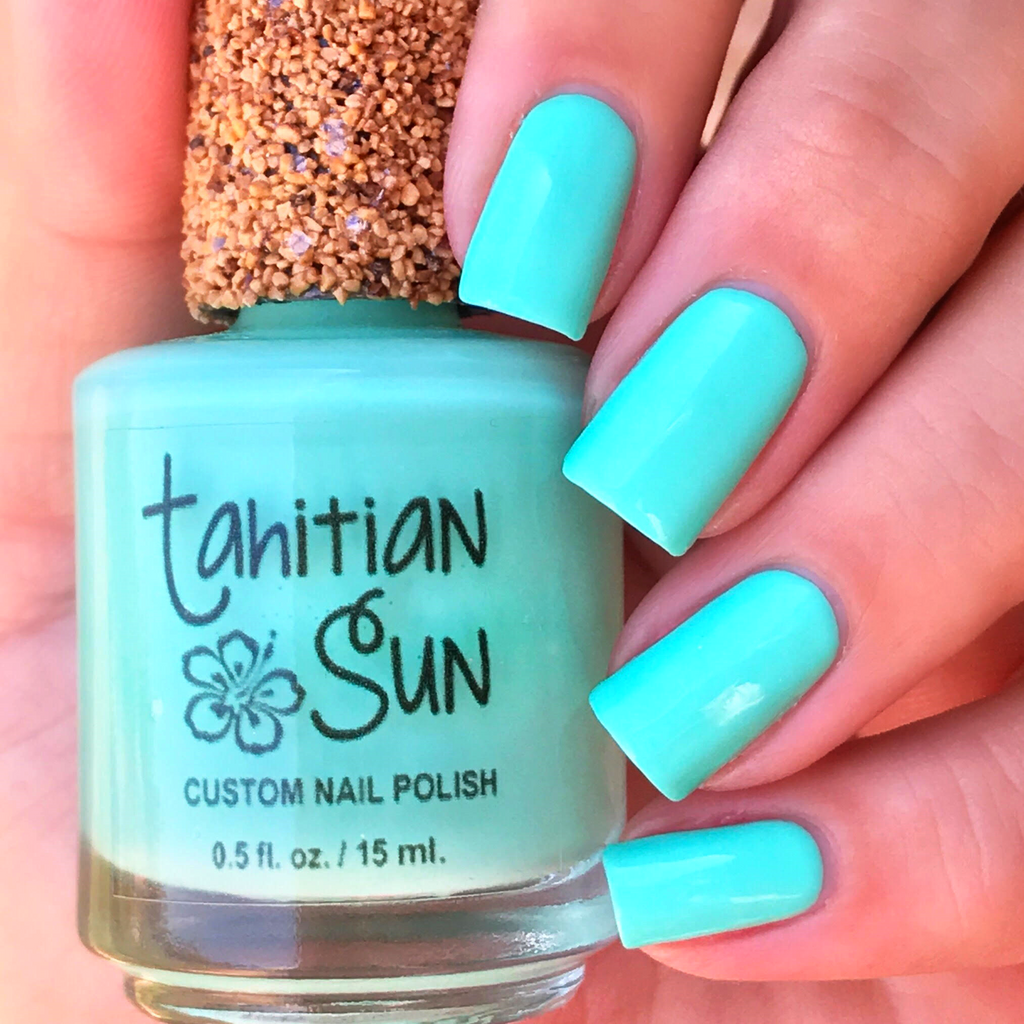 Gloss and Matte Nail Polish – Tahitian Sun