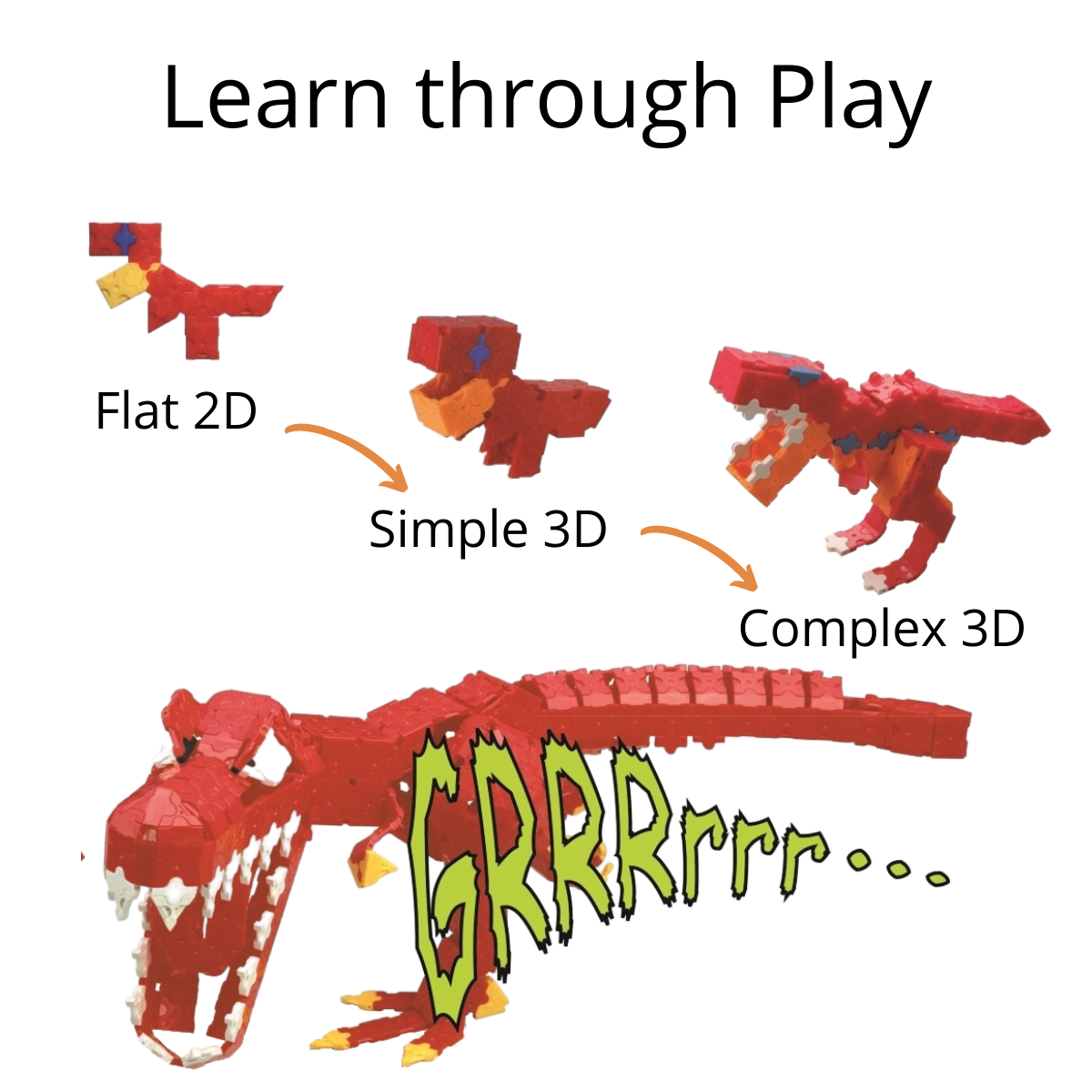 Play based learning with LaQ