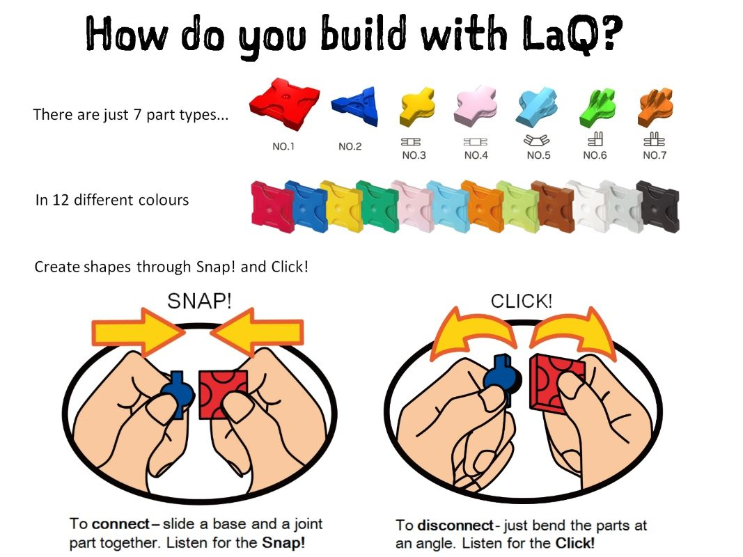 LaQ Construction Toys Australia NZ | Build anything with just 7 parts