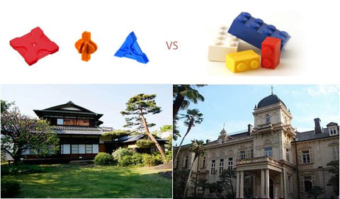 How LaQ was invented - inspired by Japanese architecture