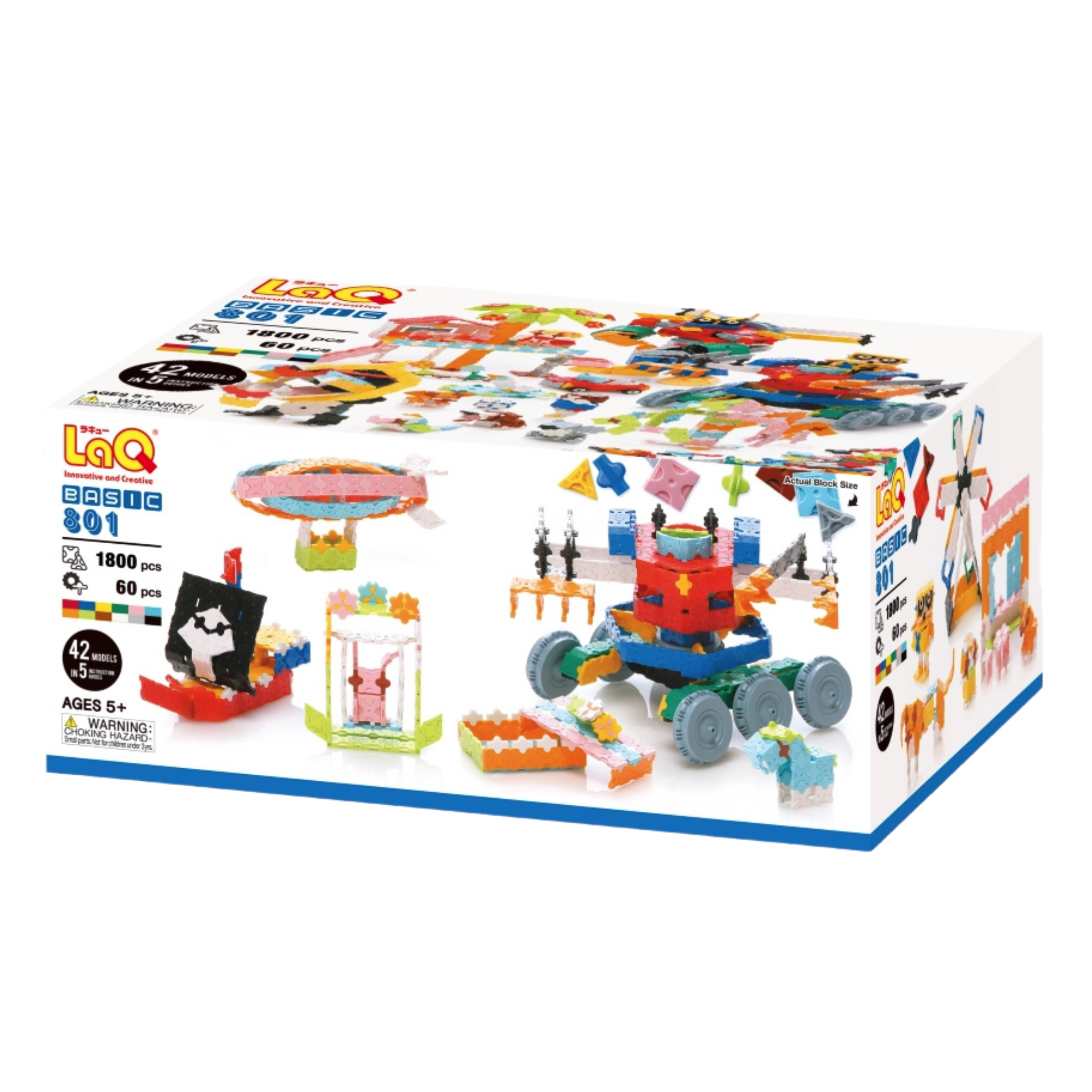 LaQ Basic 801 - STEM Construction Toy