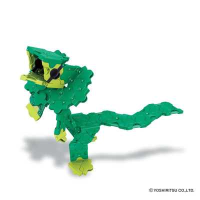 Frilled neck lizard from Alligator building set