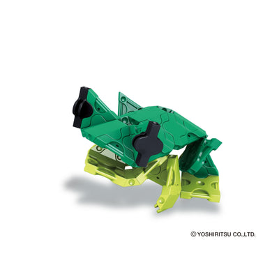 Frog model from Alligator building set