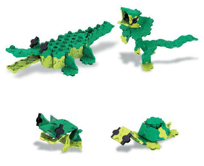 Models you can make with LaQ product Animal World Alligator